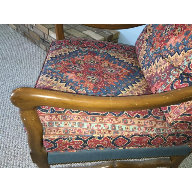 Mutton Bone Lounge Chair and Ottoman - Image 5 of 9