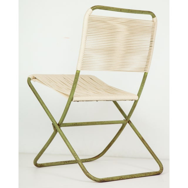 1950s Greta Grossman Folding Chairs - a Pair For Sale - Image 9 of 13