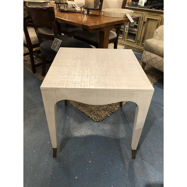 Hollywood Regency Highland House Clayton End Table For Sale In Chicago - Image 6 of 8