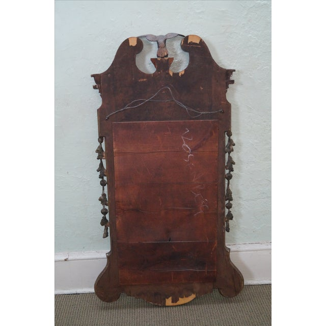 Antique Mahogany Georgian George III Style Mirror - Image 4 of 10