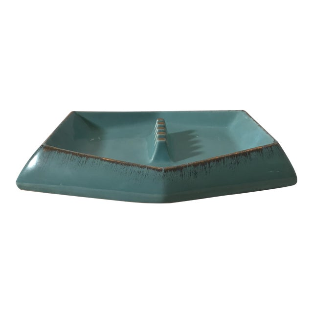 Mid Century Modern Rossini Pegasus Ceramic Ashtray For Sale