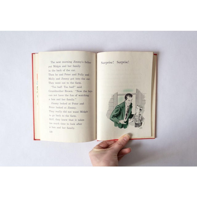 1950s Vintage Childrens School Book For Sale - Image 4 of 11