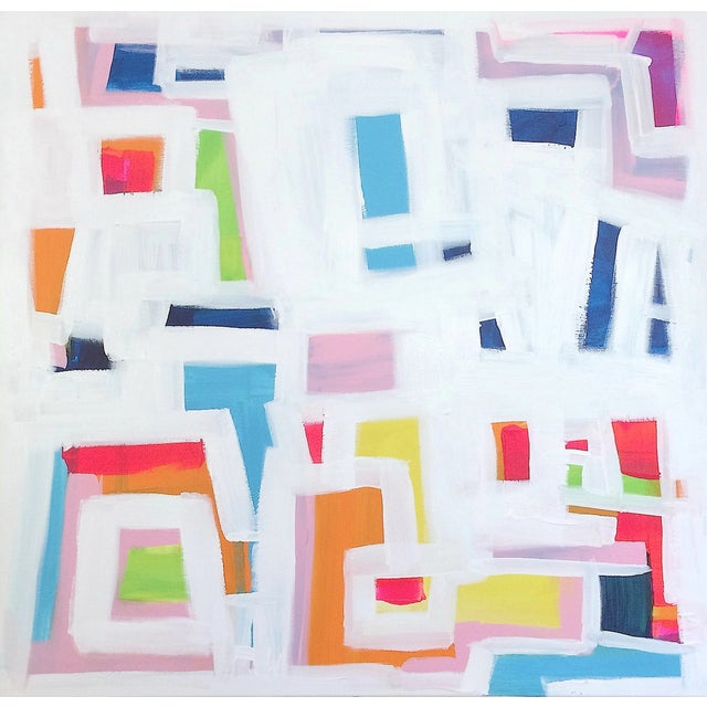 'P-TOWN FUNK' Original Abstract Painting - Image 1 of 8
