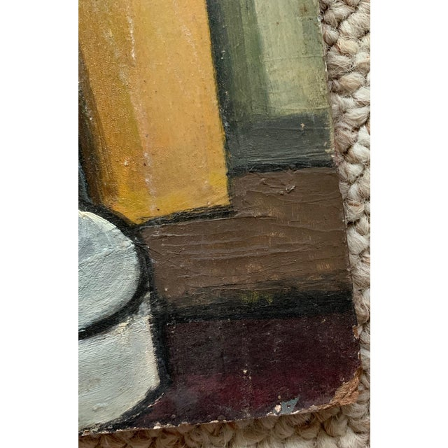 1940s Vintage Nude Woman Still Life Oil Painting For Sale In Saint Louis - Image 6 of 11
