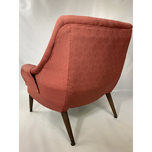 Mid-Century Lawrence Peabody - Craft Assoc. Lounge Chair For Sale In New York - Image 6 of 10