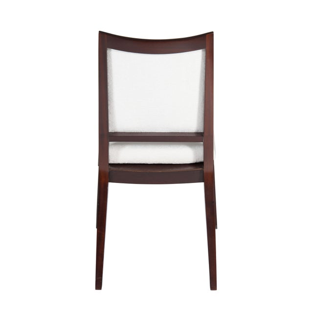 Not Yet Made - Made To Order Set of 8 Frame Back Dining Chairs For Sale - Image 5 of 7