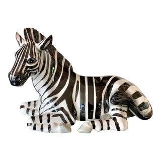 Vintage Zebra Figurine