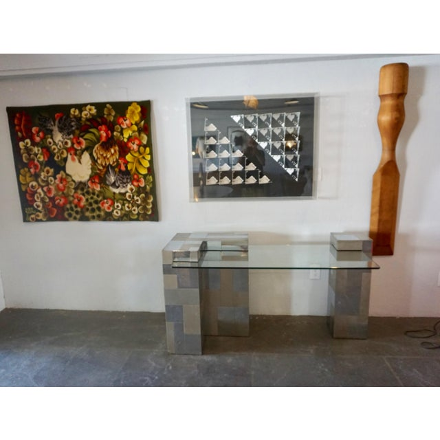 """Paul Evans """"Cityscape"""" Desk or Console For Sale In Palm Springs - Image 6 of 8"""