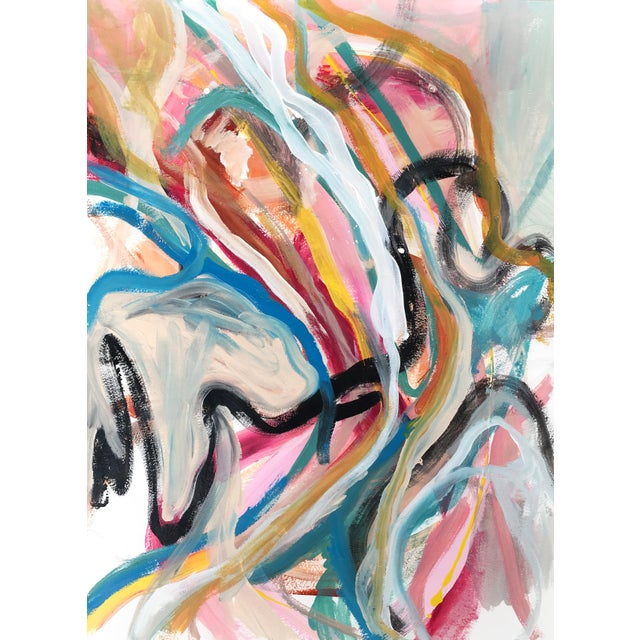 Rainbow River Jessalin Beutler Original Painting For Sale In Seattle - Image 6 of 6