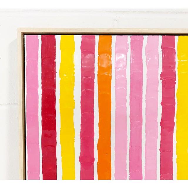 Abstract John O'Hara. Sardinia, Lp. Encaustic Paintings For Sale - Image 3 of 6