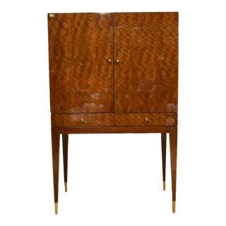 Mahogany Henredon Bar Cabinet