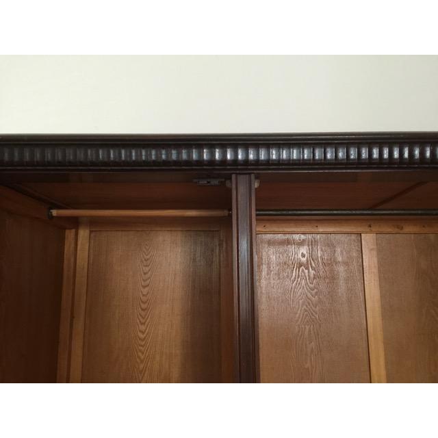 Brown 19th Century Mediterranean 3- Door Armoire For Sale - Image 8 of 11