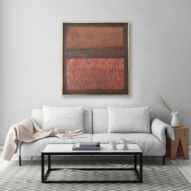 Stanley Bate, Untitled Painting, Circa 1960 For Sale - Image 9 of 10