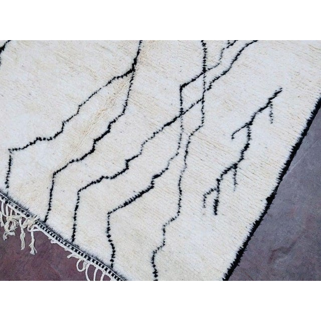 These Moroccan square berber beni ourain rug are likely the most comfortable Vintage rugs you'll ever encounter. They are...