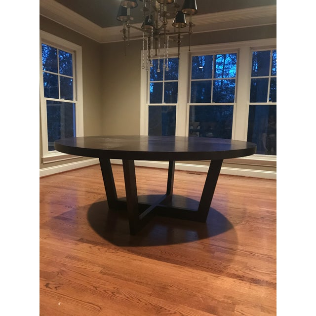 Italian 72 Inch Round Dining Table For Sale - Image 11 of 13