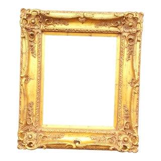 Baroque Gold Hand-Leafed Frame
