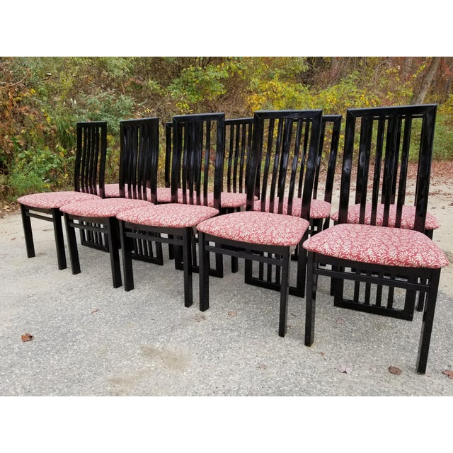 S.P.A Tonon Italian Modern Dining Chairs - Set of 10 For Sale - Image 13 of 13