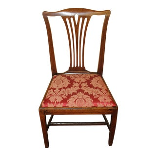 George III Mahogany Side Chair For Sale