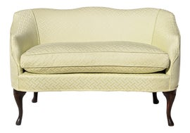 Image of English Traditional Settees