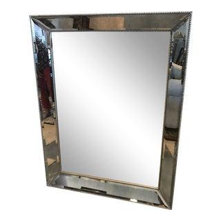 "Restoration Hardware ""Venetian"" Beaded Mirror For Sale"