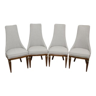 Mid-Century Modern Dining Chairs - Set of 4