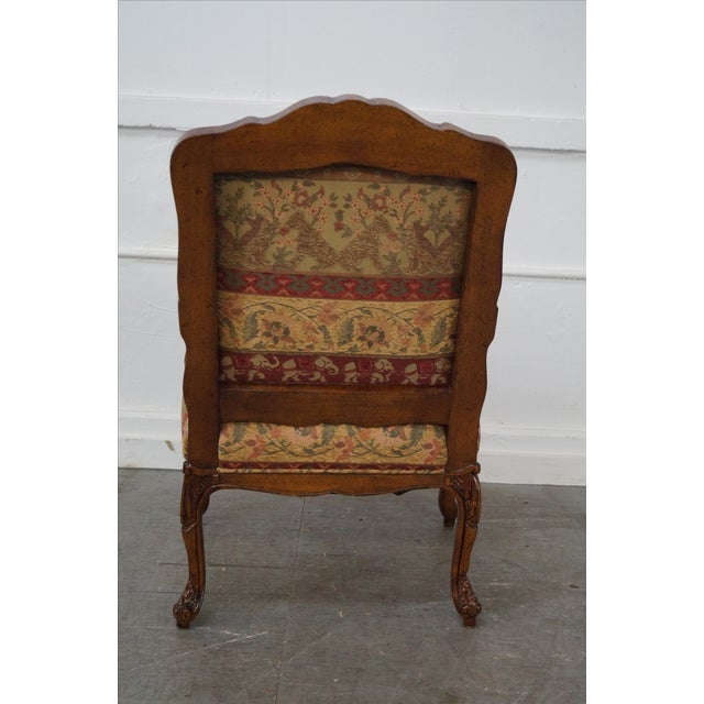 Hancock & Moore Louis XV Style Fauteuil Armchair - Image 4 of 10