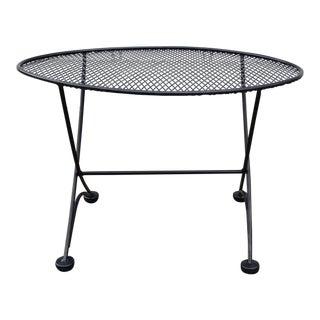 1960s Mid Century Modern Tempestini for Salterini Patio Side Table For Sale
