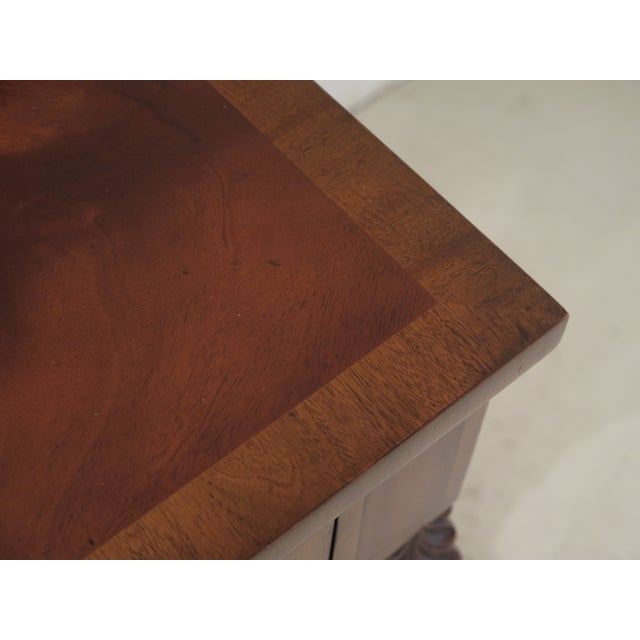 Maitland Smith Figural Mahogany Empire Dressing Vanity For Sale - Image 9 of 13