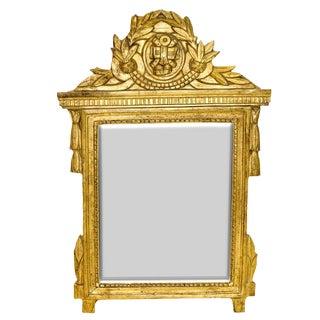 19th Century Antique Louis XVI Mirror For Sale