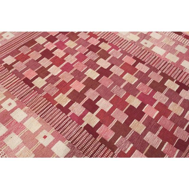 Boho Chic Vintage Scandinavian Marta Maas Rug by Marianne Richter - 5′10″ × 8′ For Sale - Image 3 of 11