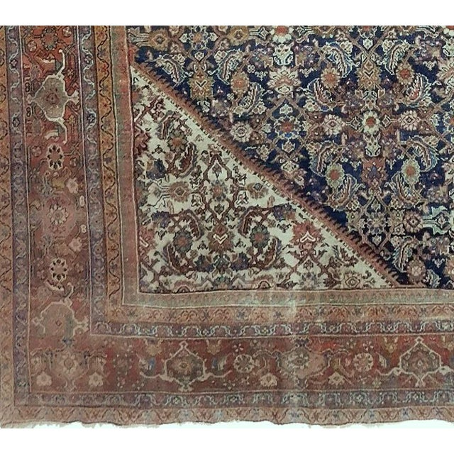 Traditional Antique Persian Palatial Rug For Sale - Image 3 of 9