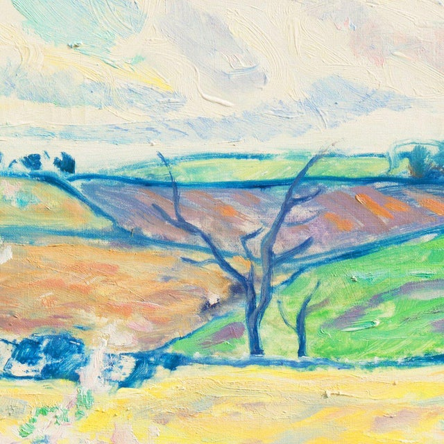 Ejnar R. Kragh Spring Landscape For Sale - Image 6 of 10