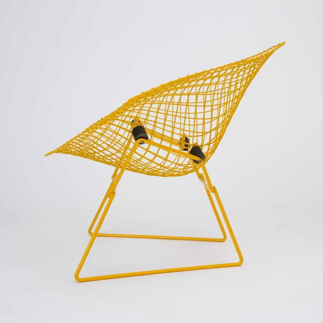 Rocking Diamond Chair by Harry Bertoia For Sale In Los Angeles - Image 6 of 12