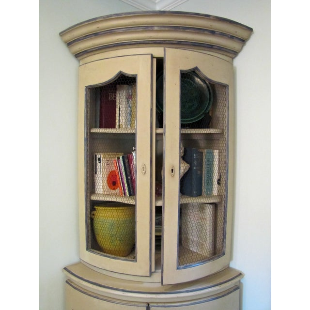 French Style Corner Cabinet - Image 3 of 5