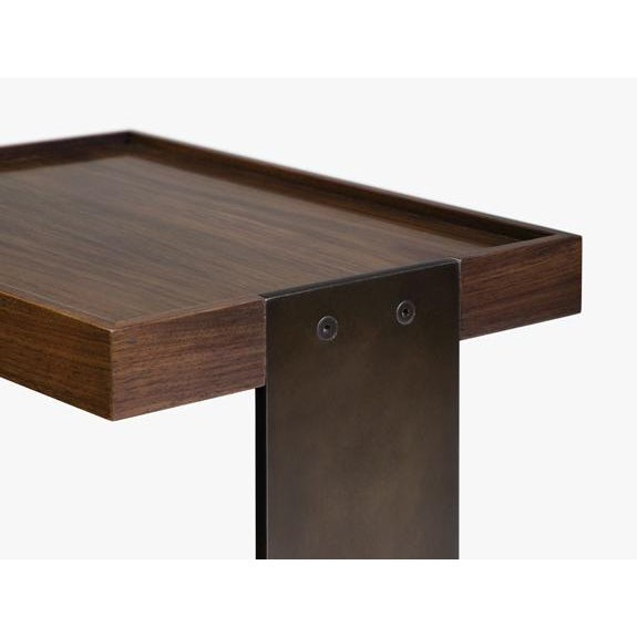 Modern Holly Hunt Boulonnais Drink Table For Sale - Image 3 of 7