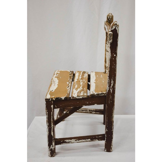 Vintage Child's Chair For Sale - Image 9 of 13