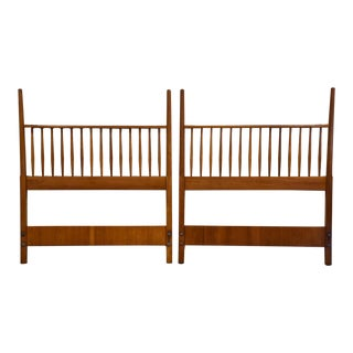 Kipp Stewart Drexel Suncoast Twin Headboards- a Pair For Sale