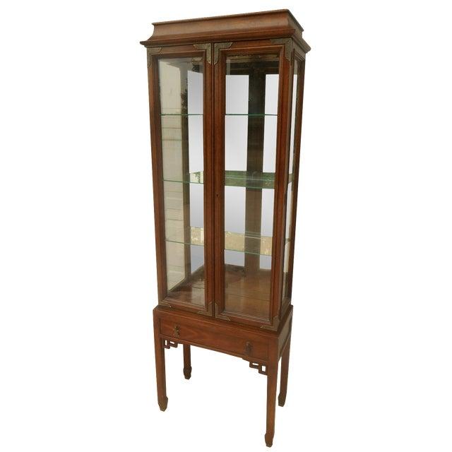 Century Furniture Oriental-Style Lit Curio - Image 1 of 7