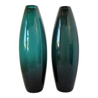 Tall Per Lütken Grønland Vases, a Pair For Sale