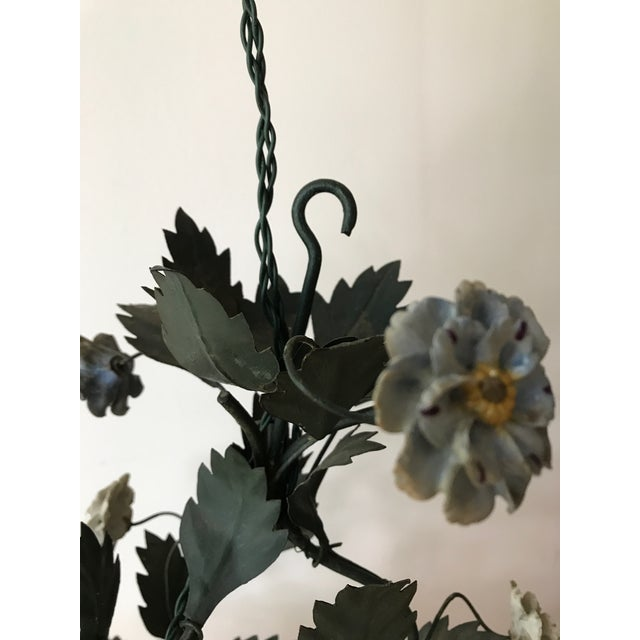 French Tole Chandelier - Image 8 of 8