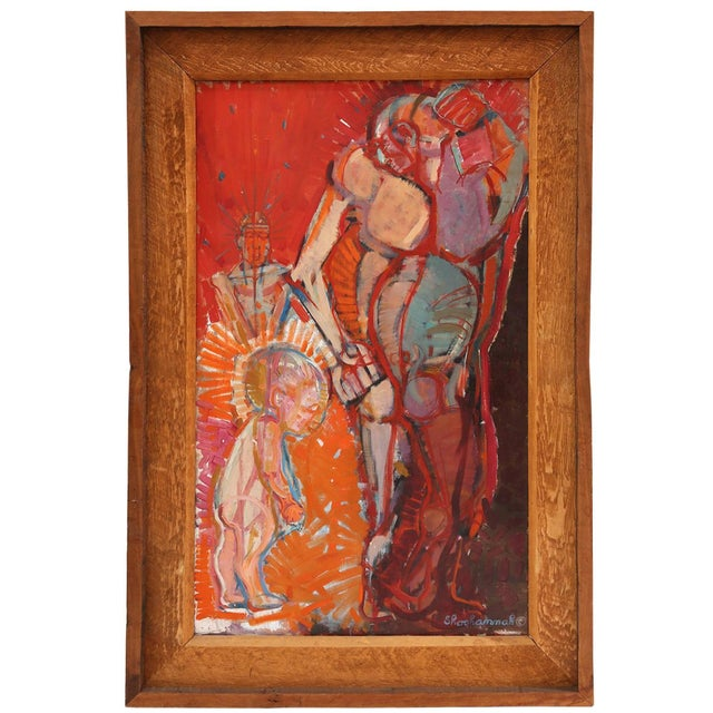 Mother and Child Painting by Shoshannah For Sale In Phoenix - Image 6 of 6