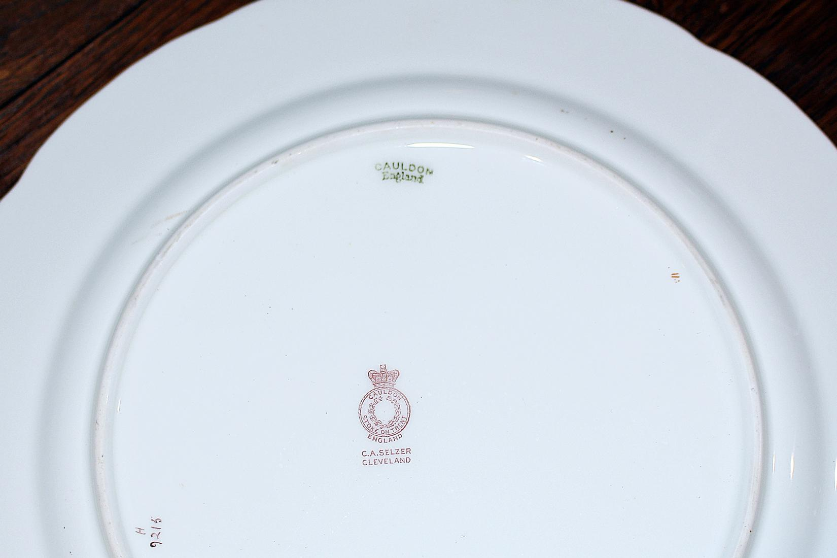 Cauldon Fine Bone-China PLates Set of 12 - Image 7 of 8  sc 1 st  Chairish & Cauldon Fine Bone-China PLates Set of 12 | Chairish