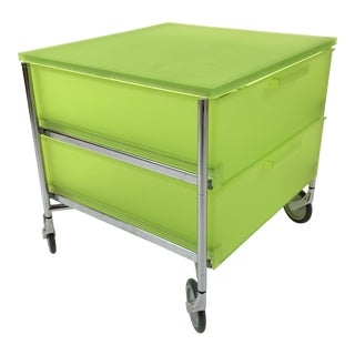 Kartell Mobil Rolling Cart With Drawers by Antonio Citterio For Sale