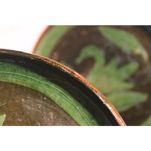 Patamban Pottery Mexican Plates - A Pair - Image 8 of 10
