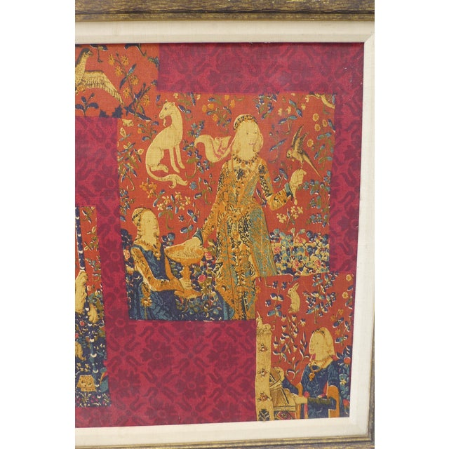 English Country Framed Tapestry - A Pair For Sale In Boston - Image 6 of 11