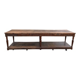 Late 1800's Vintage Swedish Console For Sale