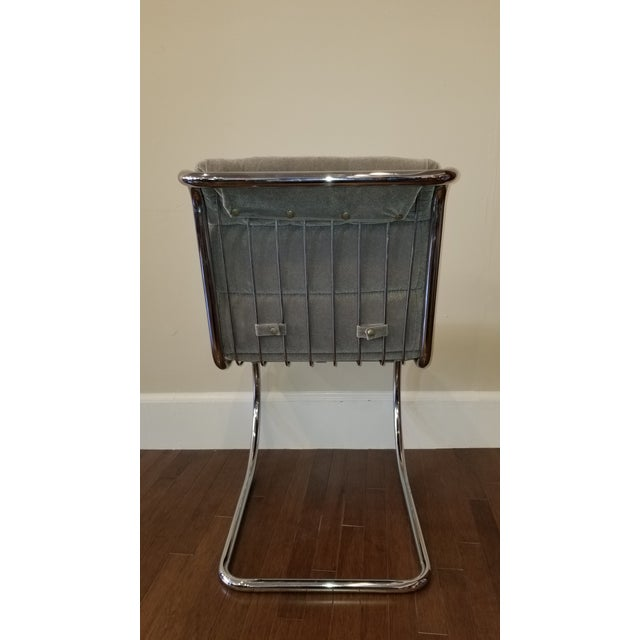 1960s Mies Van Der Rohe Mr10 Cantilever Side Chairs - Set of 4 For Sale - Image 5 of 8