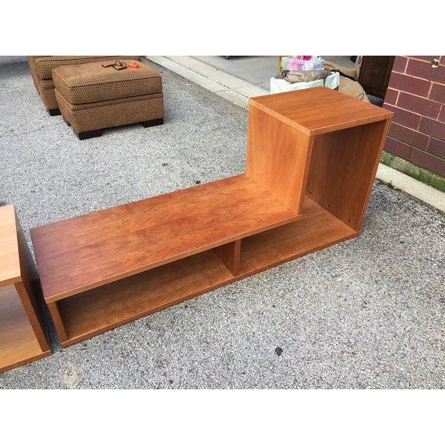 Room & Board Matrix Modular Shelving - A Pair - Image 3 of 10