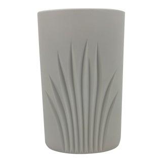 Vintage Bisque Porcelain Vase by c.j Riedel for Rosenthal Germany For Sale