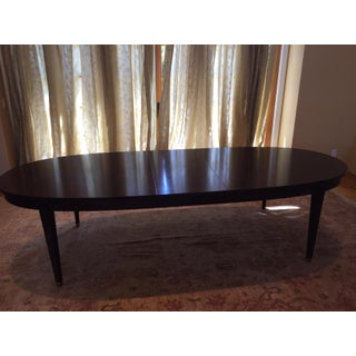 Italian William Switzer Oval Louis XVI Style Dining Table With Two Leaves Preview